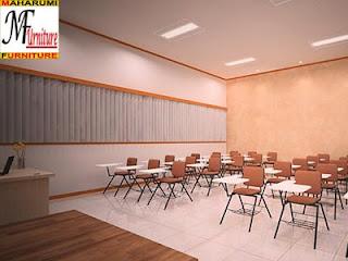 workshop custom setting interior furniture - Kelas Tempat Pendidikan Class Room- Maharumi Furniture