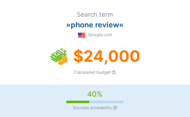 ما هي تكلفة تحسين محركات البحث؟ - أداة مجانية seobility