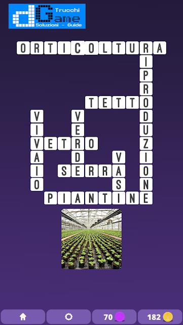 Soluzioni One Clue Crossword livello 10 schemi 12 (Cruciverba illustrato)  | Parole e foto