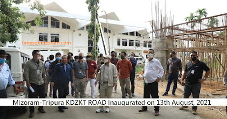 Mizoram-Tripura KDZKT ROAD