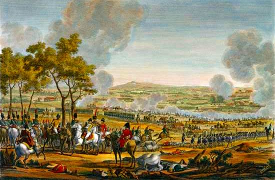 batalla de Wagram, el 7 de julio de 1809