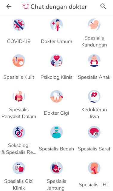 chat dengan dokter di aplikasi kesehatan