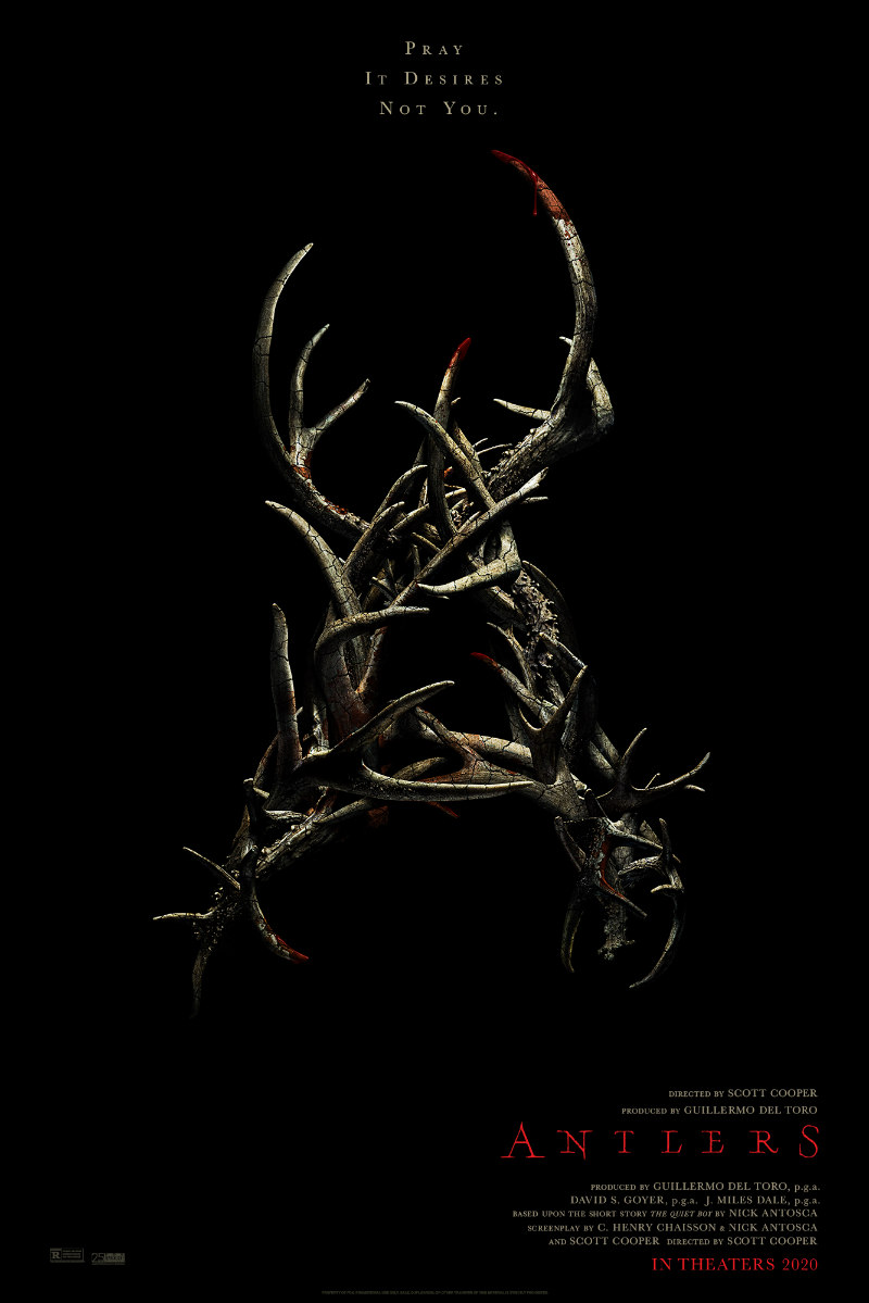 antlers keri russell poster