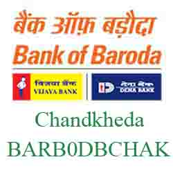 New IFSC Code Dena Bank of Baroda Chandkheda