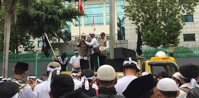Gelar Aksi 120 Menit, Jemaah Muslimin Hizbullah Minta China Transparan Soal Uighur