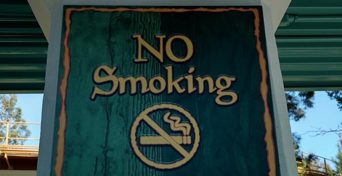 no fumar disney