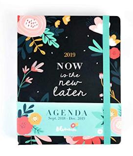 Agenda premium de 18 meses del Grupo Erik Flowers
