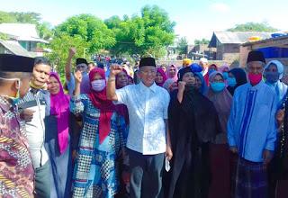 Disambut Antusias di Kecamatan Wera, H Arifin Terharu dan Bangga