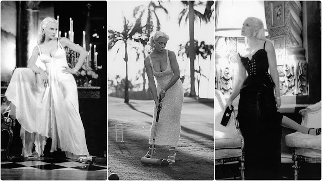 Madonna Photographed by Steven Meisel for Versace in 1995