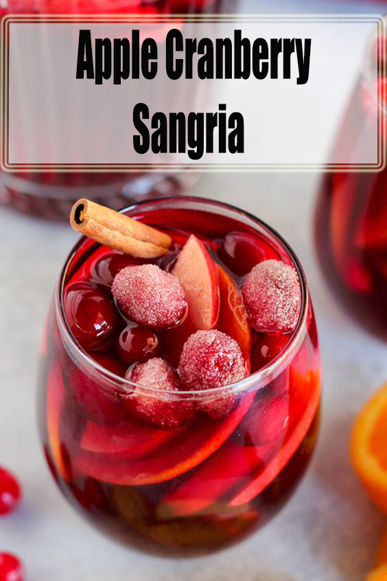 Apple Cranberry Sangria