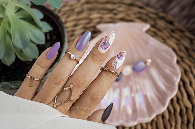 paznokcie w meduzy