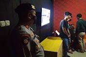 Penegakan Prokes, Polres Serang Kota Razia Sejumlah THM di JLS
