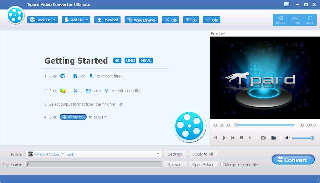 Screenshot Tipard Video Converter Ultimate 9.2.60 Full Version