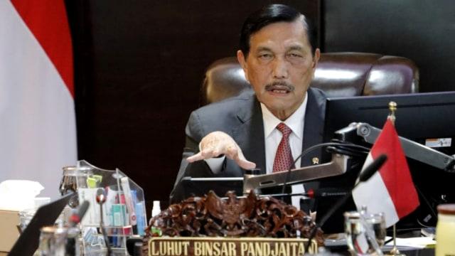 Luhut : Jokowi Minta Kami Mati-matian Turunkan Angka Kematian Corona