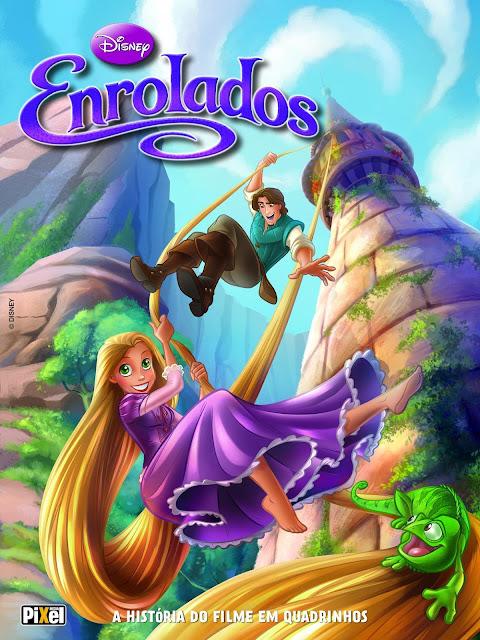 Enrolados A História do Filme em Quadrinhos Disney