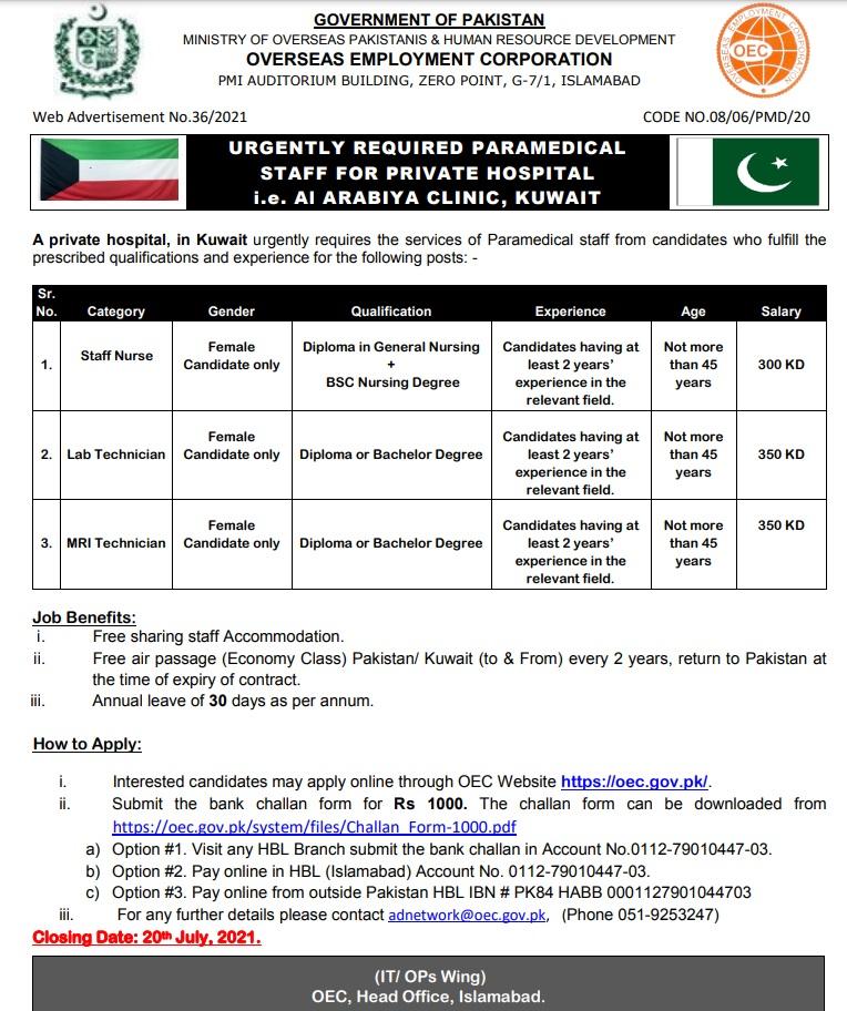 Kuwait Visa for Pakistani 2021