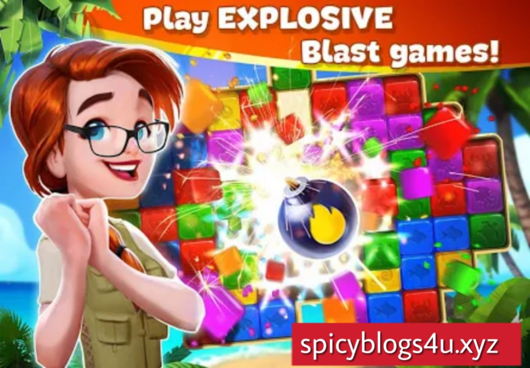 Lost Island: Blast Adventure [1.1.856] APK + (Unlimited Lives) for Android | Spicyblogs4U