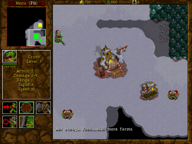Warcraft 2 Grunt Screenshot