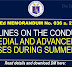 GUIDELINES ON THE CONDUCT OF REMEDIAL AND ADVANCEMENT CLASSES DURING SUMMER 2021 dm no 036 s 2021