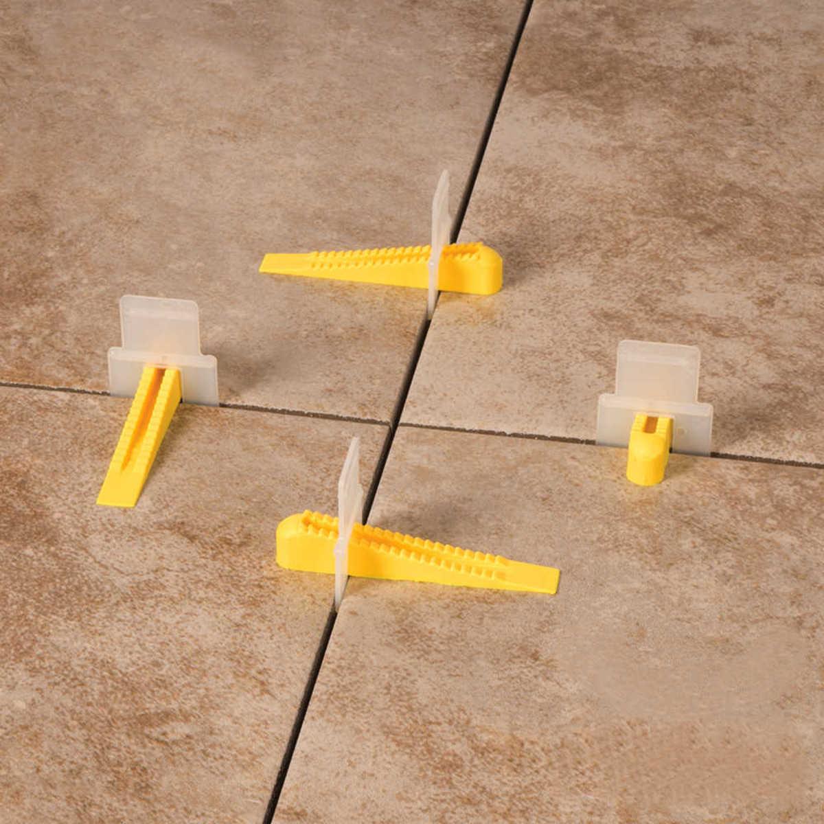 tile spacer untuk meratakan permukaan keramik dan nat