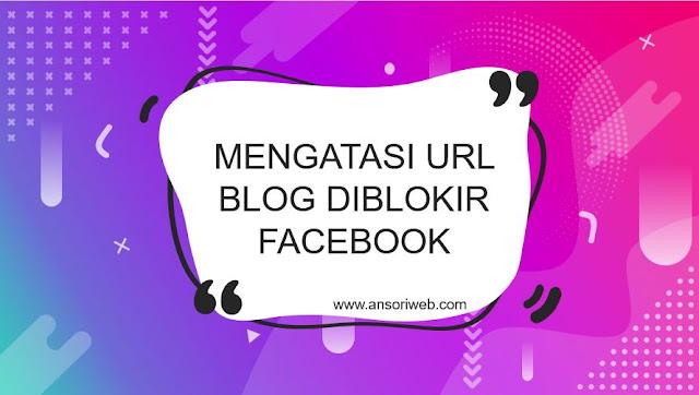 Cara Mengatasi URL Blog Diblokir Facebook dengan Mudah