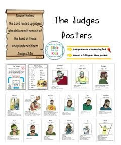 https://www.biblefunforkids.com/2013/11/the-judges.html