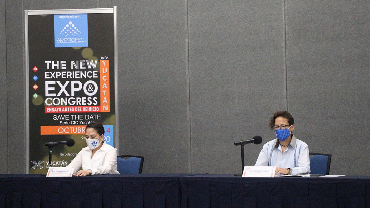 AMPROFEC YUCATÁN NEW EXPERIENCE EXPO CONGRESS 02