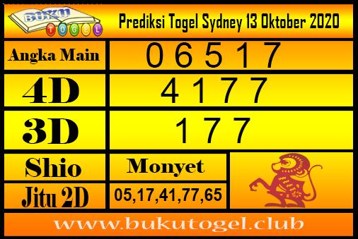 Syair Sydney 13 Oktober 2020