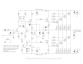 nmos power amplifier series part 3 loublet schematic. Black Bedroom Furniture Sets. Home Design Ideas