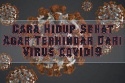 Cara Hidup Sehat Agar Terhindar Dari Virus covid19