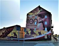Mural - 100 lat odzyskania niepodległości