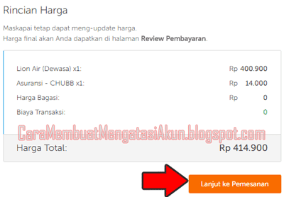 cara pesan tiket pesawat di traveloka web