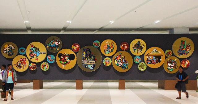 karya seni di terminal 3 ultimate