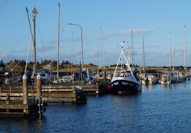 7 Ausflüge für Familien in Nord-Dänemark, die komplett kostenlos sind. Ein Bummel durch den Hafen von Aalbaek macht Kindern und Eltern Spaß, nebenan liegen ein Spielplatz und ein kinderfreundlicher Strand.