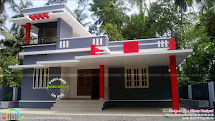 1291 Sq-ft Work Finished Home In Kerala