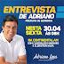 Prefeito Adriano Lima dará entrevista à Rádio Continental AM nesta sexta