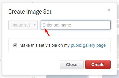 create image set shutterstock