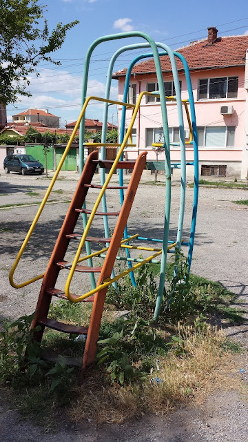 Children, Slide, Yambol,