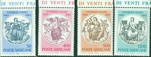 1983 Vatican City 5th Centenary of Birth of Raphael Sanzio
