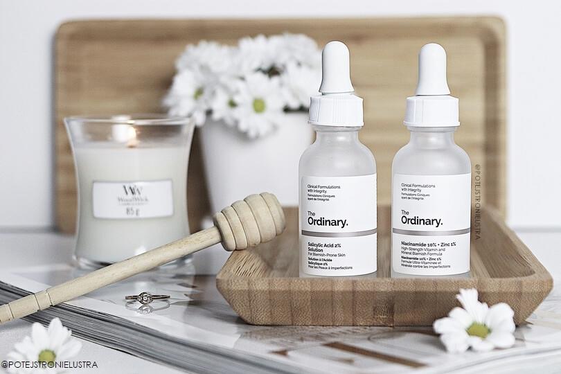 kosmetyki the ordinary do pielęgnacji cery trądzikowej