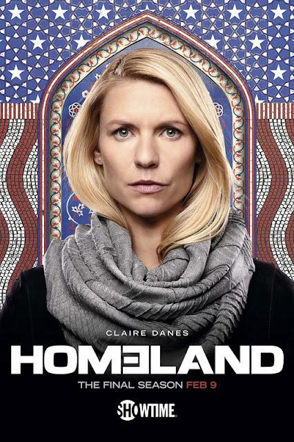 Póster octava temporada de 'Homeland'