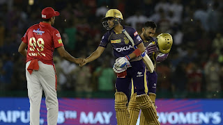 KXIP vs KKR 52nd Match IPL 2019 Highlights