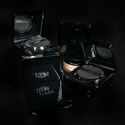 Review Looke Cushion dan Loose Powder all new shades seridewix Seri Dewi