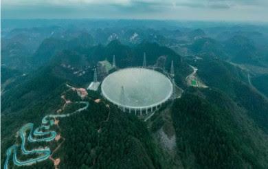 В Китае построили самый большой в мире радиотелескоп