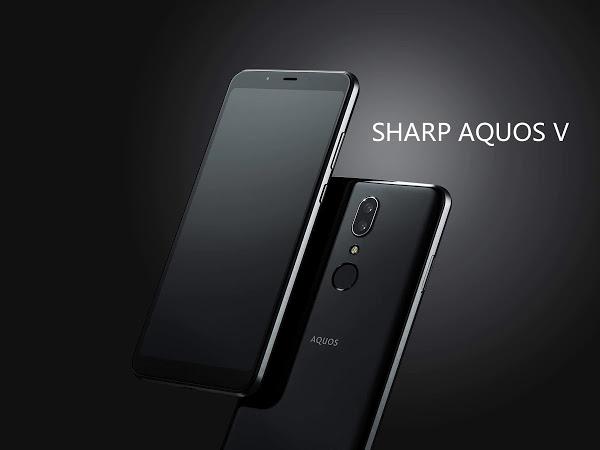 SHARP AQUOS V versão global a grande preço em armazém Europeu