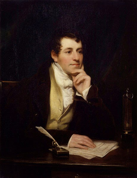 Sir Humphry Davy by Thomas Phillips