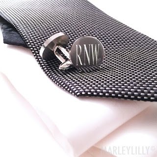personalized gift idea for him - cuff links
