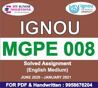 mgpe-008 hindi; mgpe-008 book pdf in hindi; mgpe-008 in hindi pdf; mgpe 008 solved assignment; mgpe-008 question paper; mgpe-007; mgpe-008 study material in hindi; mgpe 011