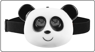 Tech Tools Animal Shaped LED Panda Headlamp