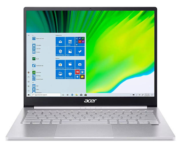"Acer Swift 3 13"" FHD Display with 11th Gen Intel Core i5-1135G7 Processor"